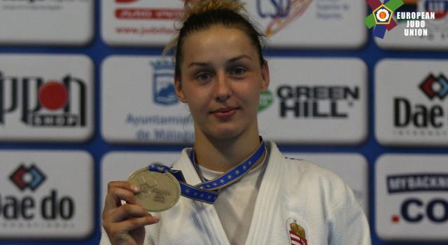 Gercsák Szabináé a második bronzunk a junior Eb-n!