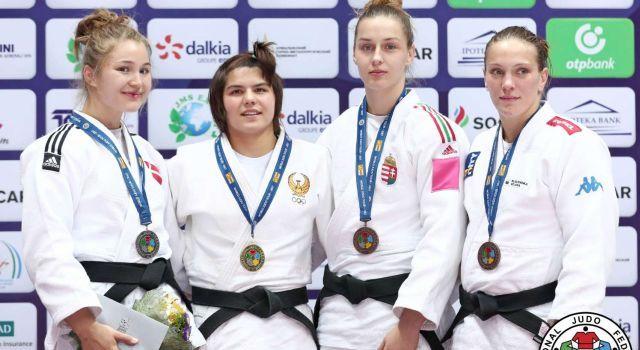 Két magyar bronzérem az üzbég Grand Prix-n