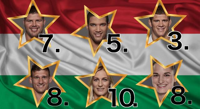 Világranglista: hat magyar judós a Top10-ben!